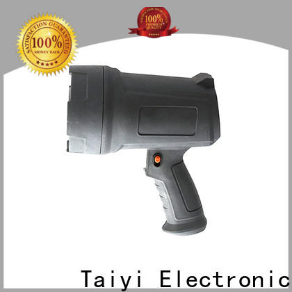 Taiyi Electronic well-chosen rechargeable spotlight series for camping