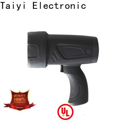 Taiyi Electronic reasonable highest lumen handheld spotlight series for security