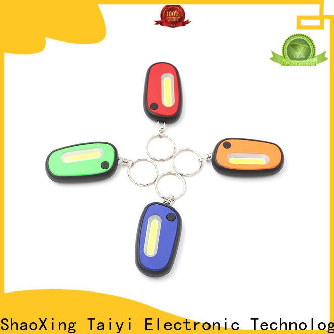 Taiyi Electronic cob mini flashlight keychain wholesale for electronics