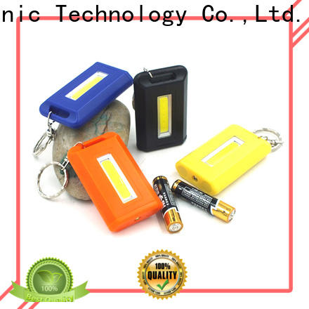 professional flashlight keychain with logo cob series for roadside repairs
