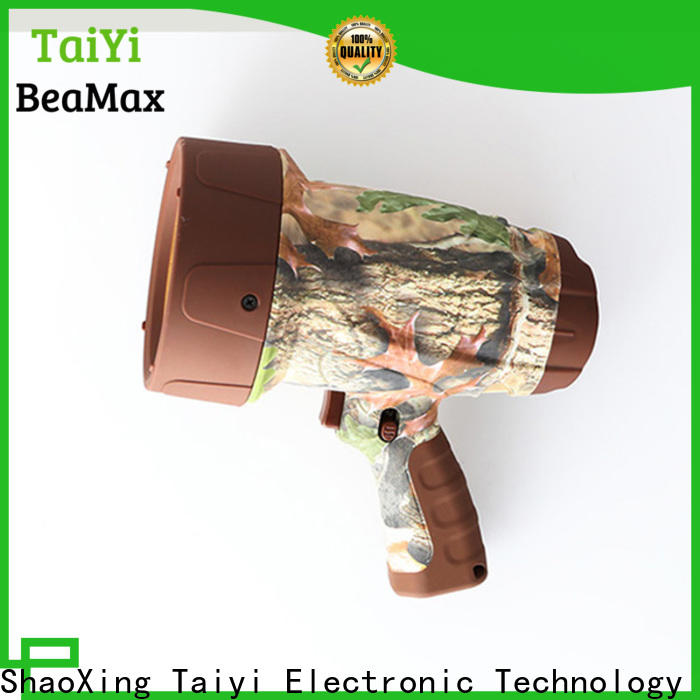 Taiyi Electronic battery brightest rechargeable spotlight manufacturer for vehicle breakdowns