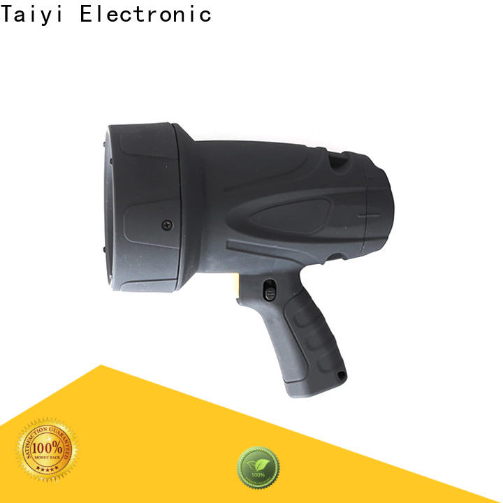 Taiyi Electronic search waterproof rechargeable spotlight series for sports