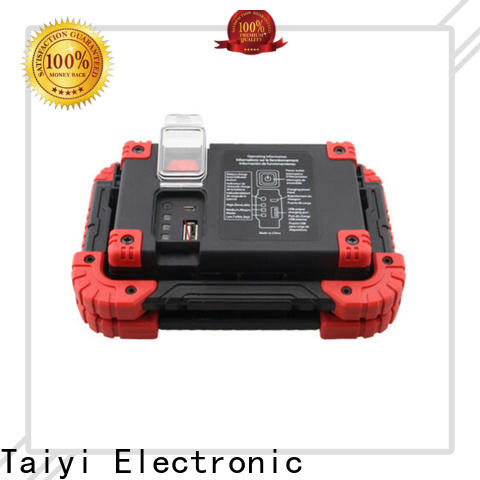 Taiyi Electronic flashlight rechargeable magnetic work light series for electronics