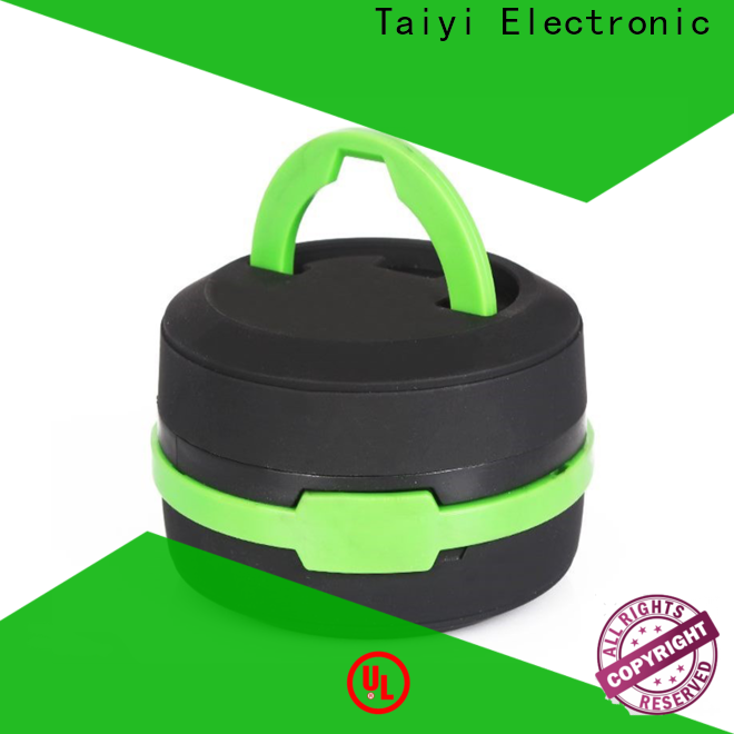 Taiyi Electronic bright camping lamp manufacturer for roadside repairs