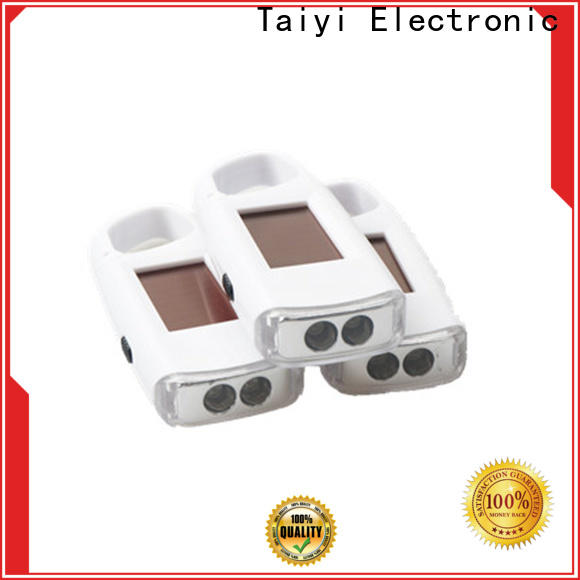 Taiyi Electronic colorful led keychain light supplier for roadside repairs