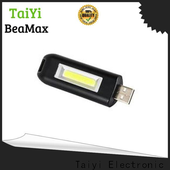 Taiyi Electronic flashlight flashlight keychain with logo manufacturer for electronics