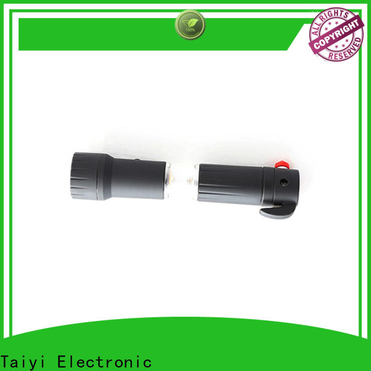 Taiyi Electronic safe tiny flashlight series for roadside repairs