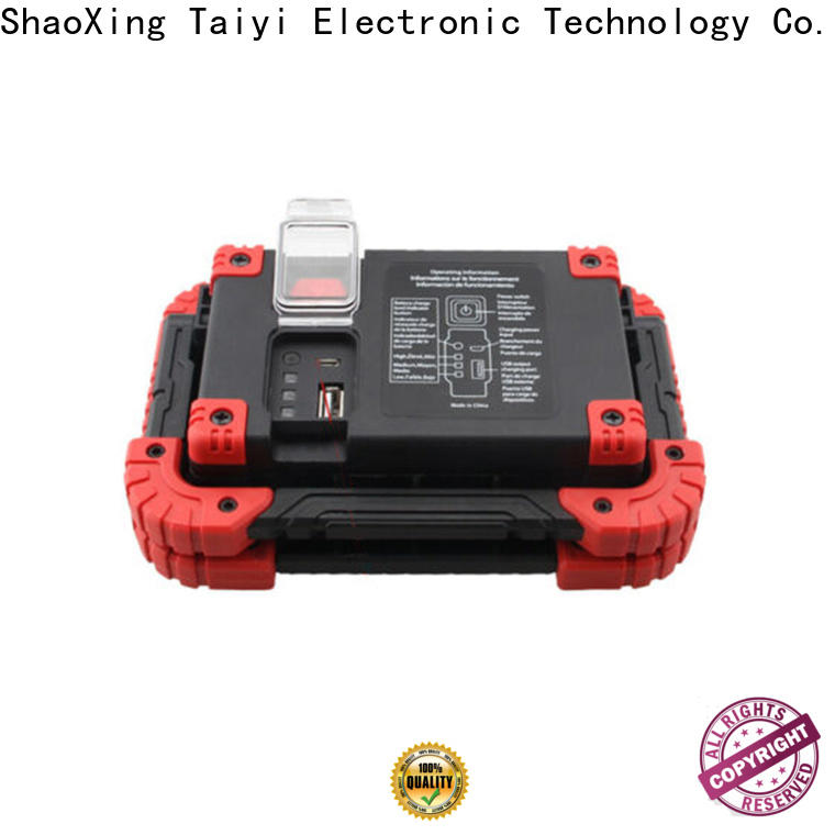 Taiyi Electronic magnet rechargeable cob work light manufacturer for multi-purpose work light