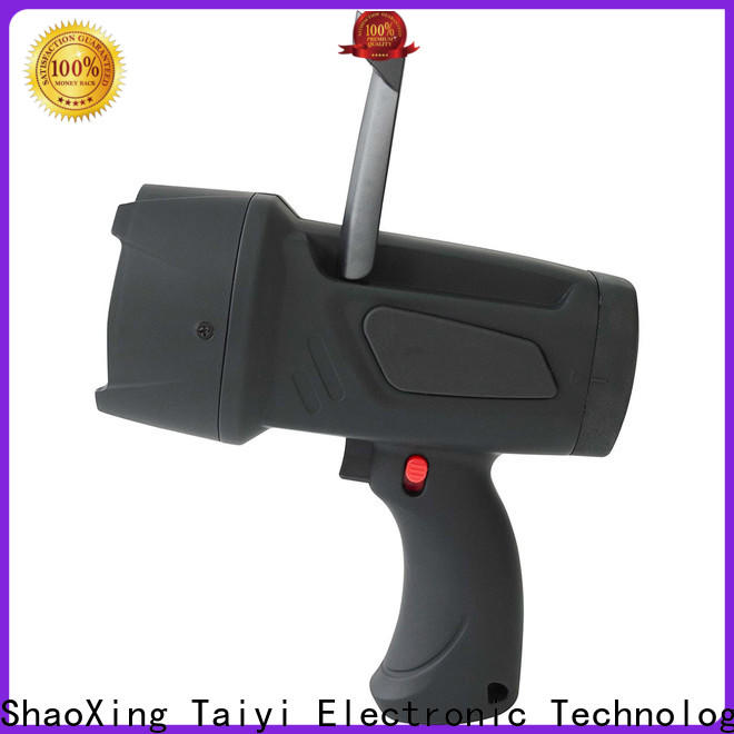 Taiyi Electronic powerful handheld car spotlight supplier for security