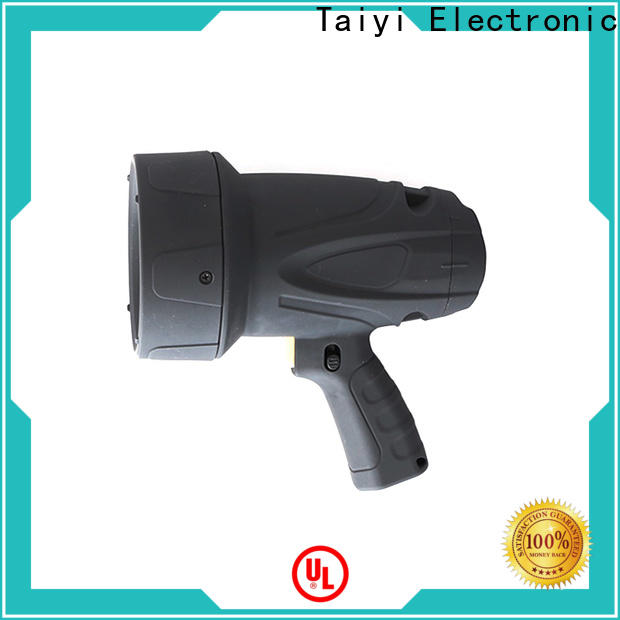 Taiyi Electronic professional brightest rechargeable spotlight series for vehicle breakdowns