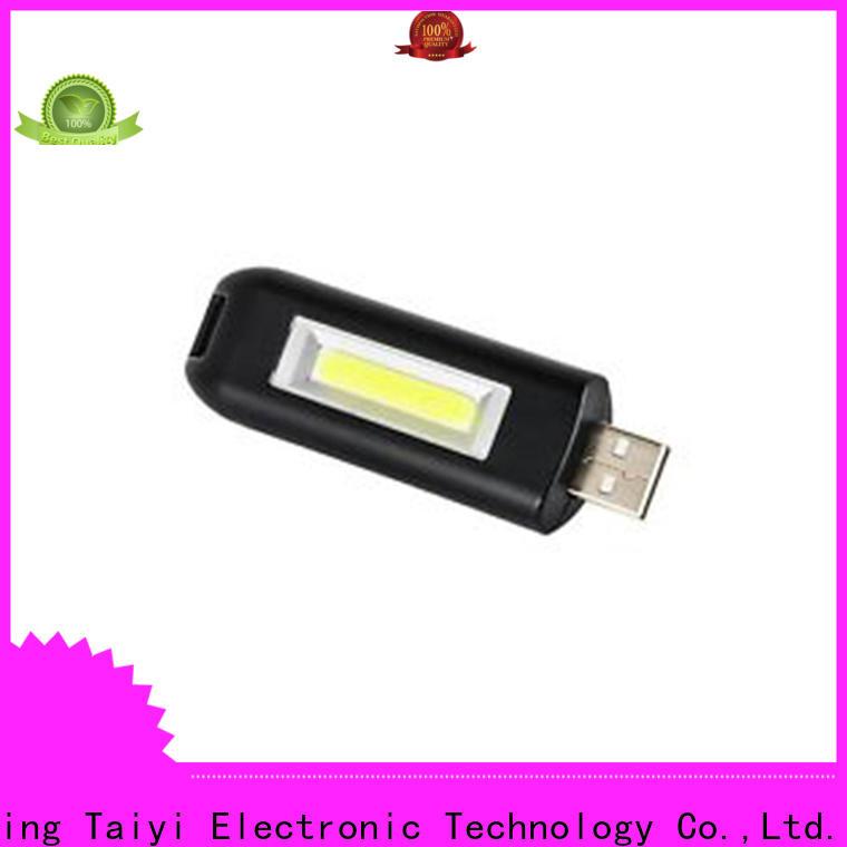 Taiyi Electronic colorful custom keychain flashlights series for roadside repairs