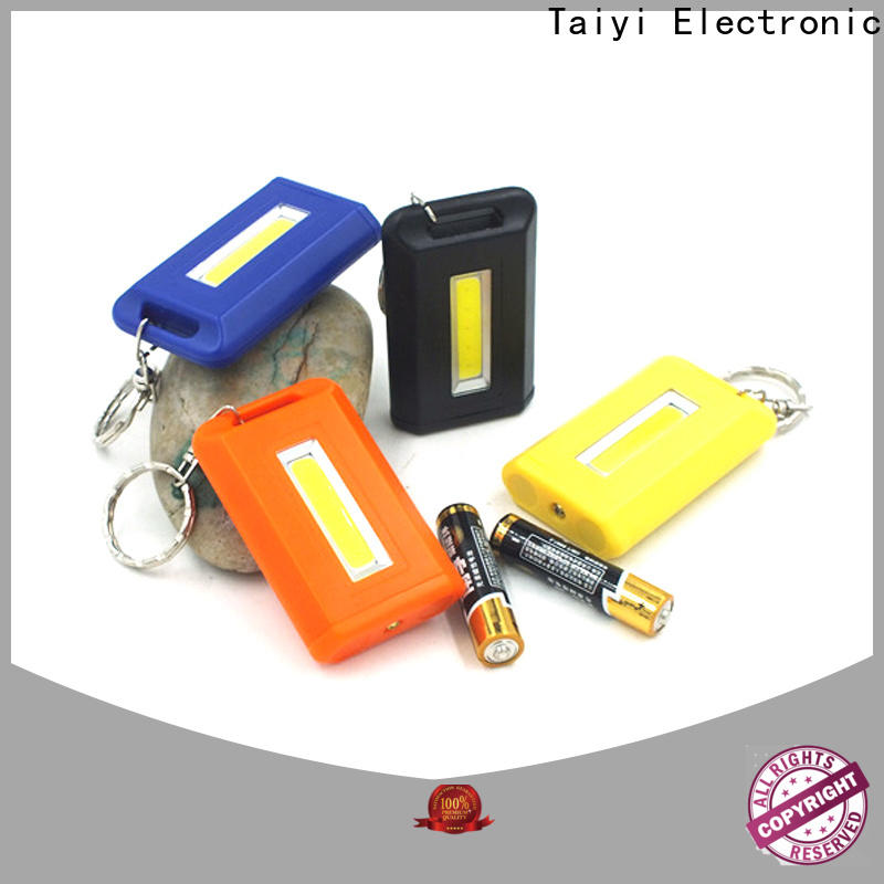 Taiyi Electronic keychain keychain light supplier for multi-purpose work light