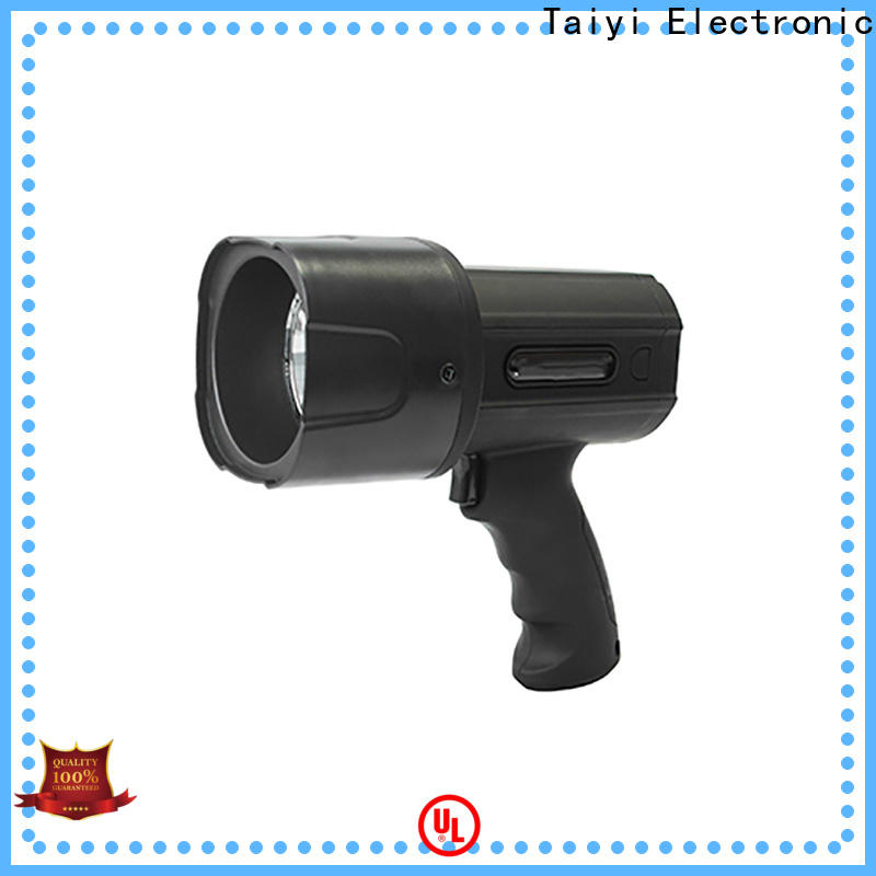 Taiyi Electronic high quality handheld spotlight for boat manufacturer for security