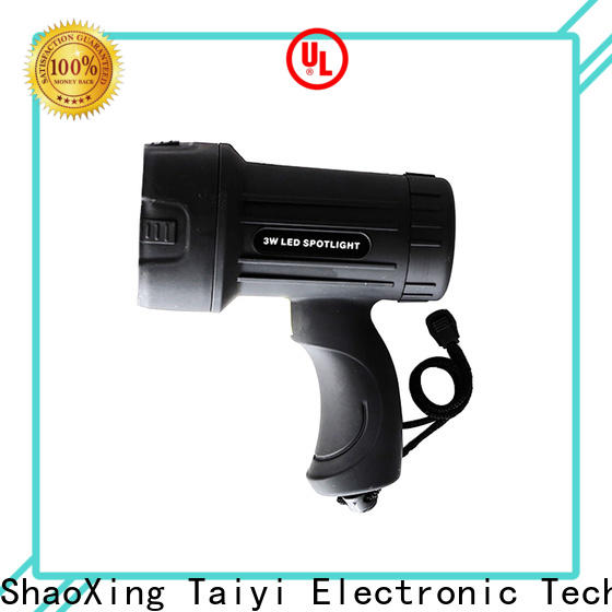 reasonable powerful rechargeable spotlight powerful series for security