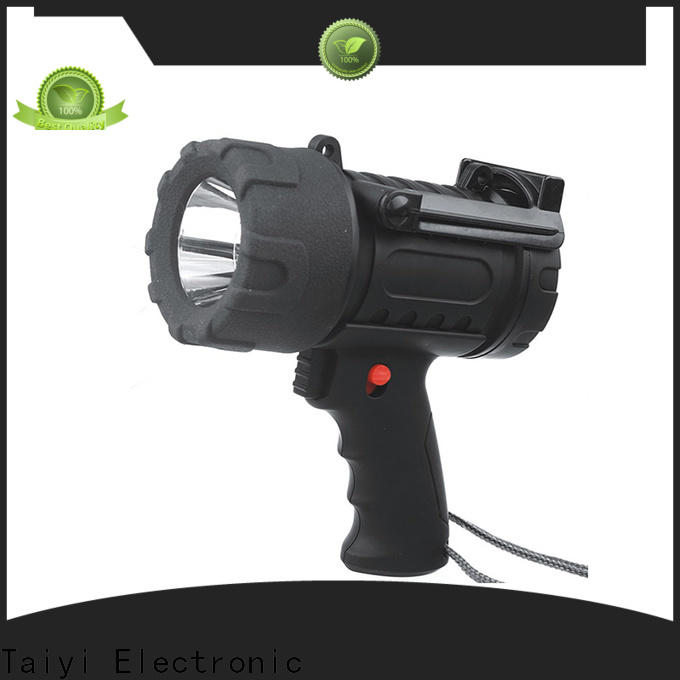 Taiyi Electronic durable waterproof rechargeable spotlight manufacturer for vehicle breakdowns