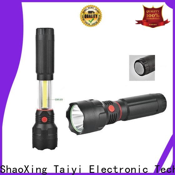 Taiyi Electronic flashlight 20w rechargeable led work light manufacturer for multi-purpose work light