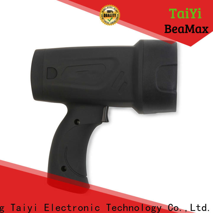 Taiyi Electronic reasonable handheld battery spotlight manufacturer for security