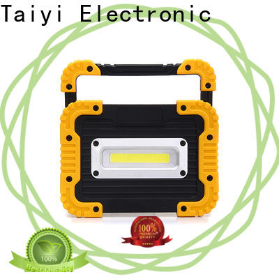 Taiyi Electronic durable rechargeable led work light series for roadside repairs