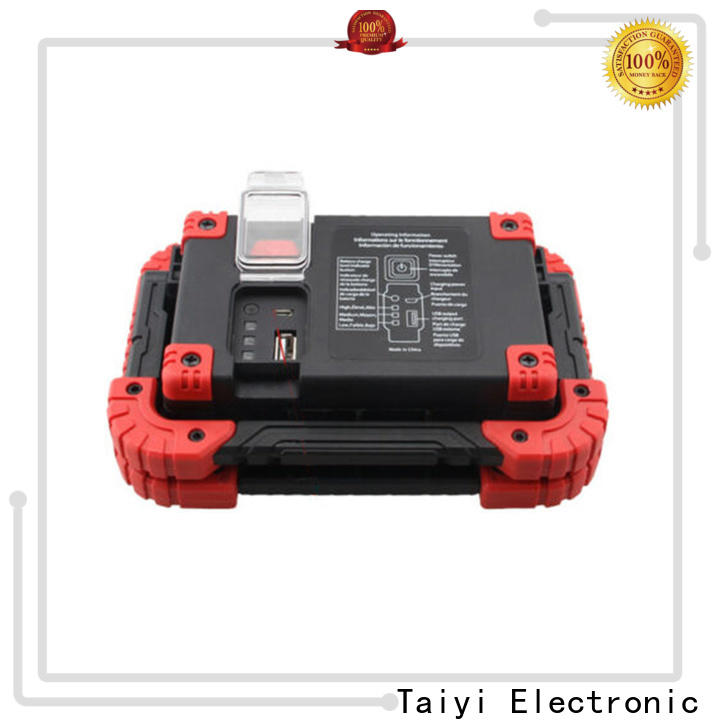 Taiyi Electronic usb portable work light wholesale for roadside repairs
