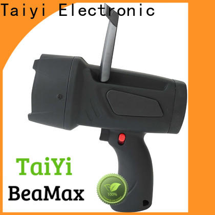Taiyi Electronic operated handheld battery spotlight supplier for vehicle breakdowns