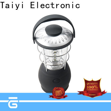 Taiyi Electronic professional rechargeable camping lantern wholesale for roadside repairs
