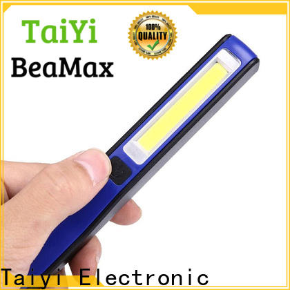 Taiyi Electronic cabinet rechargeable cob led work light supplier for roadside repairs