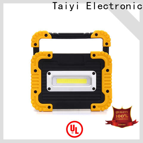 Taiyi Electronic professional 20w rechargeable led work light manufacturer for roadside repairs