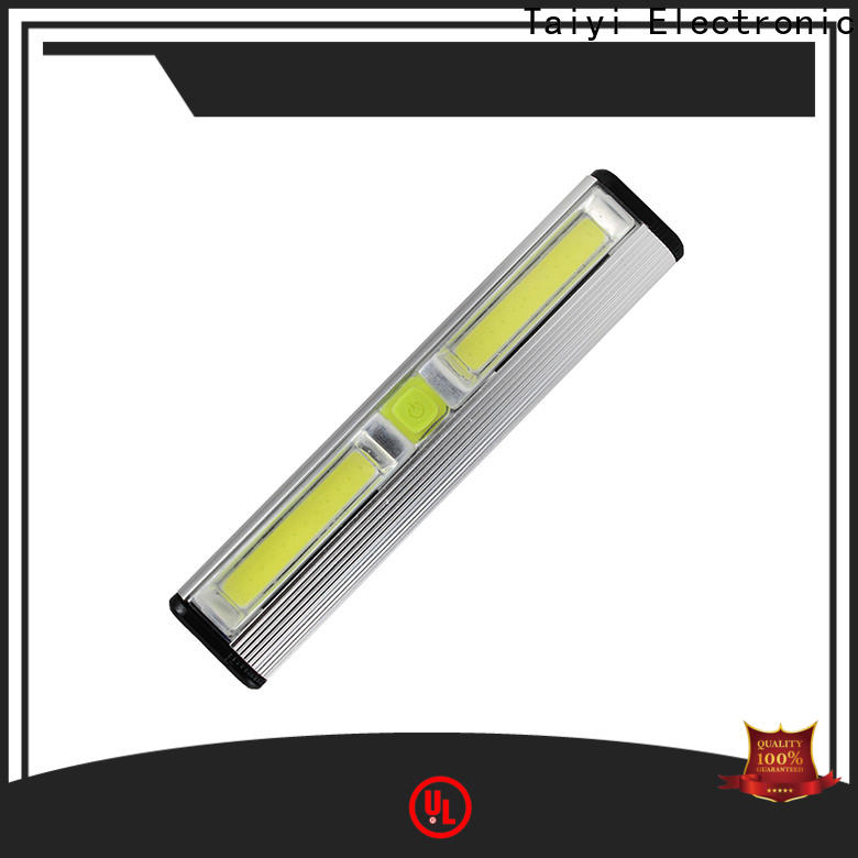 Taiyi Electronic magnetic rechargeable magnetic work light manufacturer for roadside repairs