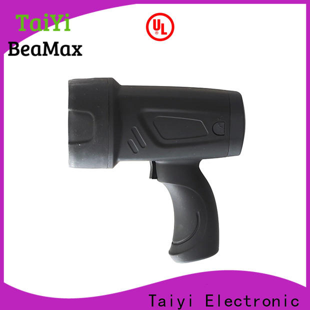Taiyi Electronic powerful led handheld spotlight manufacturer for sports