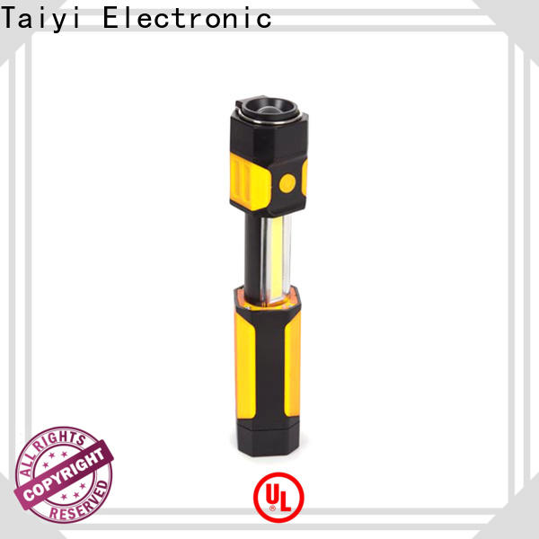 Taiyi Electronic flashlight waterproof work light series for roadside repairs
