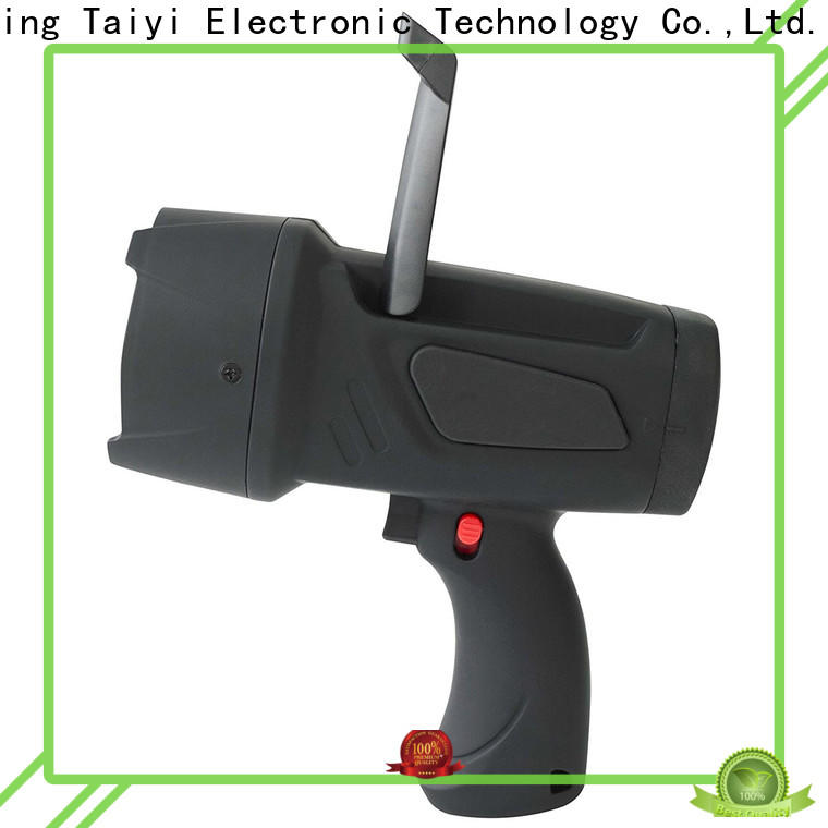 Taiyi Electronic well-chosen handheld battery spotlight series for security