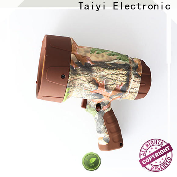 Taiyi Electronic high quality brightest rechargeable spotlight series for search