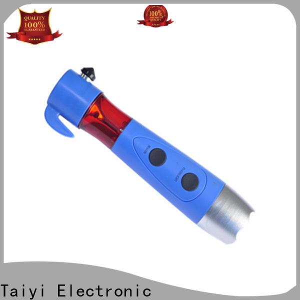 Taiyi Electronic safe high lumen flashlight series for roadside repairs