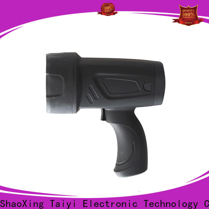 Taiyi Electronic professional handheld car spotlight series for camping