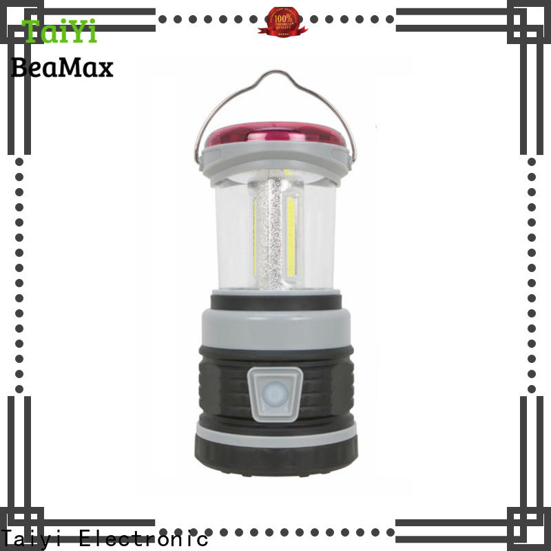 Taiyi Electronic rechargeable best camping lantern supplier for electronics