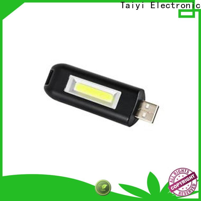 Taiyi Electronic flashlight flashlight keychain with logo manufacturer for roadside repairs