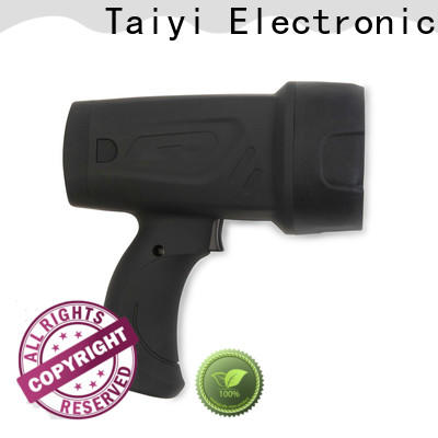 Taiyi Electronic rechargeable most powerful handheld spotlight wholesale for vehicle breakdowns