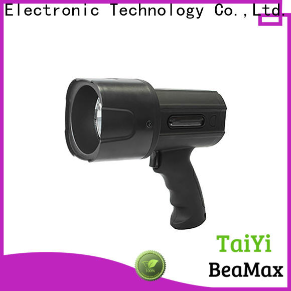 Taiyi Electronic rechargeable halogen handheld spotlight wholesale for security