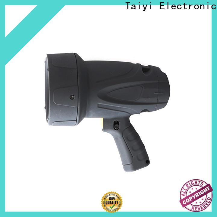 Taiyi Electronic reasonable halogen handheld spotlight manufacturer for sports