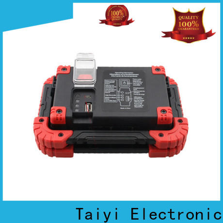 Taiyi Electronic quality 12 volt led work lights wholesale for roadside repairs