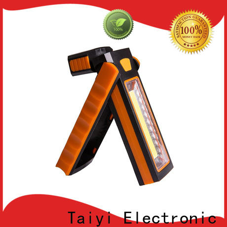 Taiyi Electronic dimmable cordless work light supplier for roadside repairs