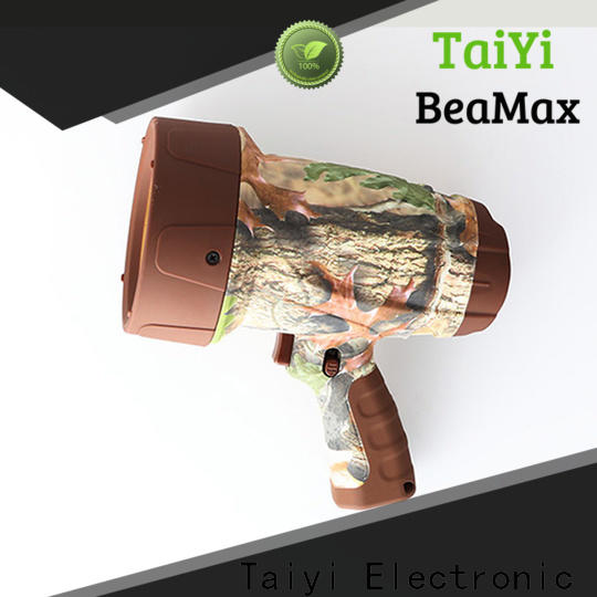 Taiyi Electronic high quality handheld spotlight supplier for search