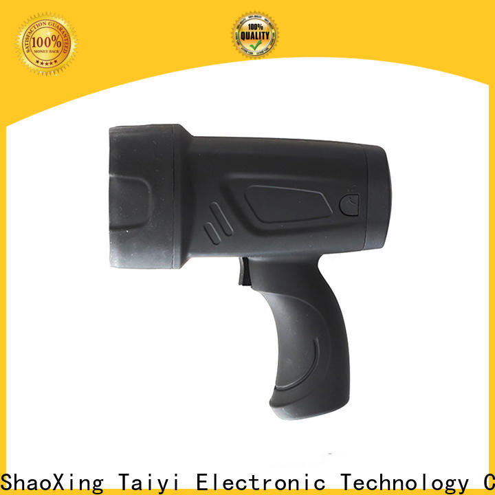professional rechargeable handheld spotlight battery series for security
