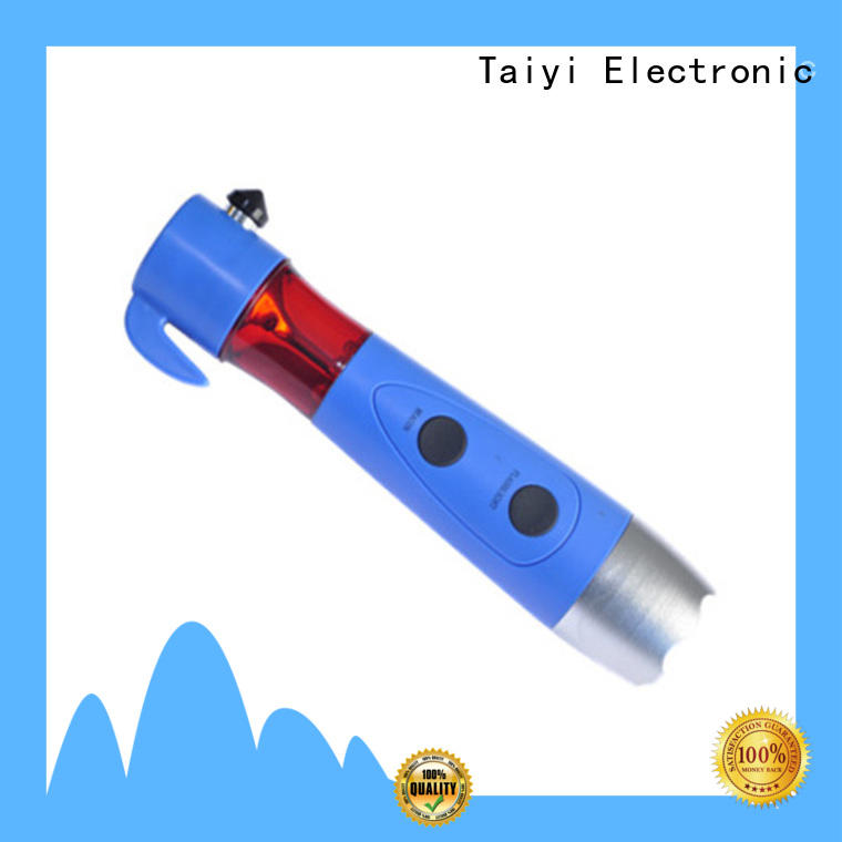 Taiyi Electronic durable best rechargeable flashlight manufacturer for electronics