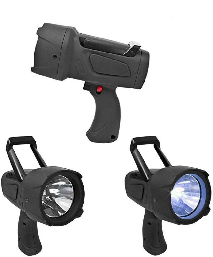 3w Battery Operated Searchlight with Stand Spot light
