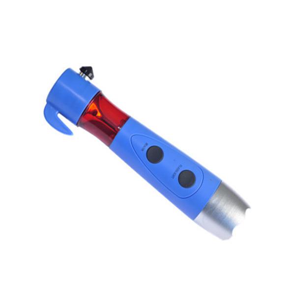 5-1 multi function safe hammer flashlight