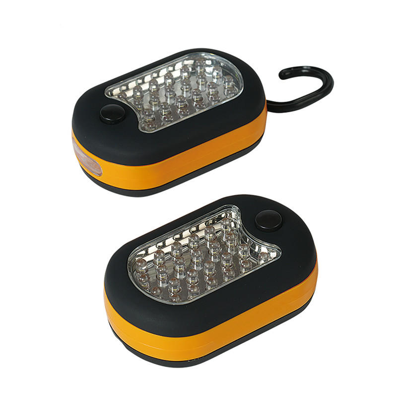 27 LEDS Work Light LED Soap Light Emergency Light for Camping Hiking Running with Hook