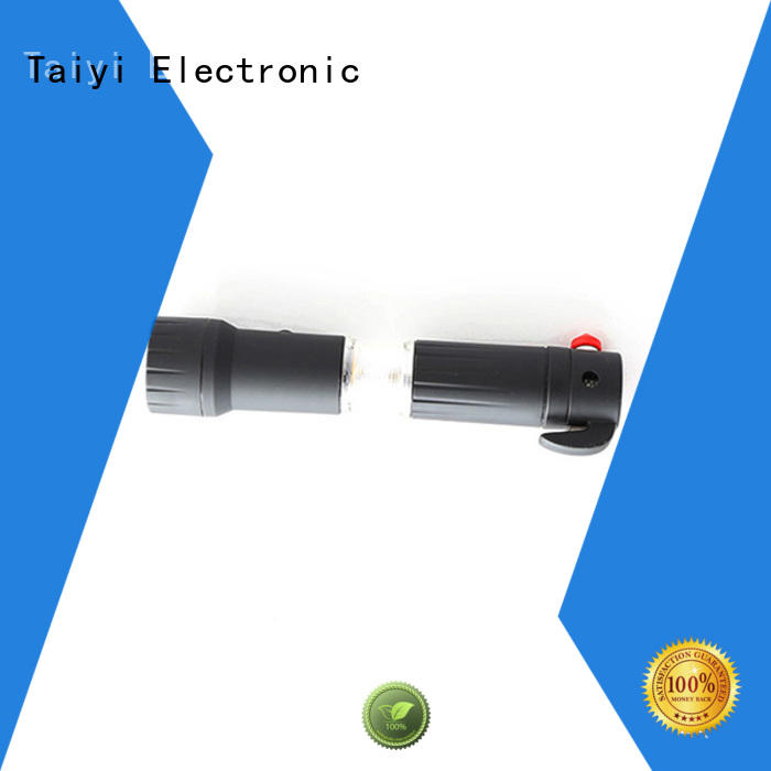 Taiyi Electronic flashlight best rechargeable flashlight supplier for roadside repairs