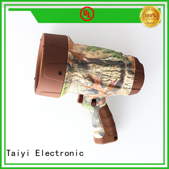 Taiyi Electronic outdoor highest lumen handheld spotlight series for vehicle breakdowns