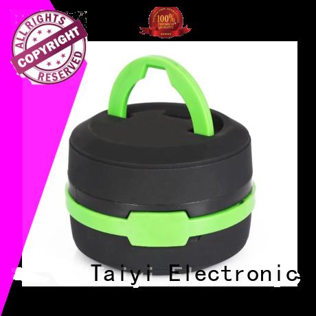 Taiyi Electronic battery portable lantern manufacturer for roadside repairs